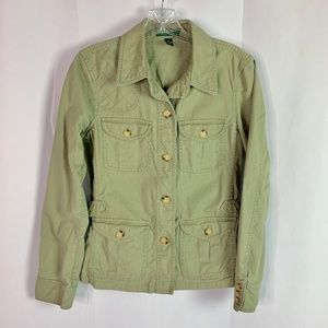 LAUREN Ralph Lauren Cotton Canvas Jacket